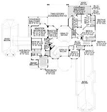 mediterranean style house plan 7 beds 9 50 baths 11027 sq ft