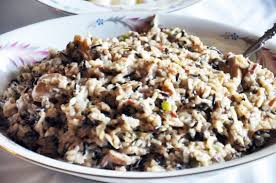 rice recipe with mushrooms onions and spices butterybooks