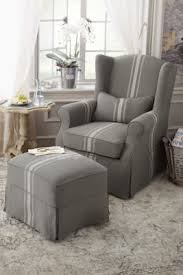 Matching Chair And Ottoman Slipcovers 144 Best Chairs Ottomans Images On Pinterest Furniture