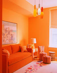 Orange Living Room Decor 15 Lively Orange Living Room Enchanting Orange Living Room Design
