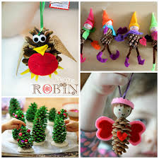 pine cone decoration ideas pine cone crafts for kids to make crafty morning