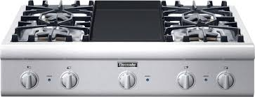 Thermador Cooktop With Griddle Pcg364gd Thermador Professional 36