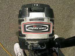 mercury 7 5hp thunder bolt ignition outboard motor the hull