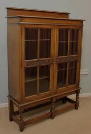 Oak Glazed Display Cabinet 15 Ideas Of Oak Glazed Bookcase