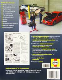 mitsubishi lancer automotive repair manual haynes automotive