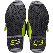 motocross bike boots fox racing 2017 mx new comp 5 dirt bike flo yellow grey motocross