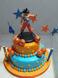 Dragon Ball Z Cake Decorations by Fiesta Tematica Dragon Ball Buscar Con Google Cumple Santi