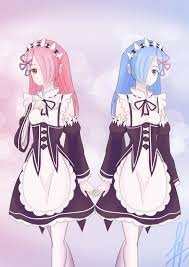 rem ram and rem by leonartha03 on deviantart