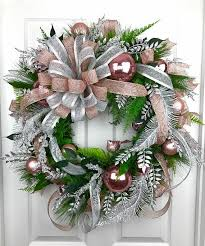 wreath gold gold decor silver