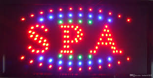 shop open sign lights 2018 2016 graphics new neon spa shop open sign eye catching flashing