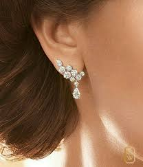 what size diamond earrings 25 best diamond earrings designs ideas on diamond