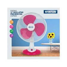 Small Oscillating Desk Fan Desk Small Pink Desk Fan Pretty Pink Usb Desk Fan Status 12