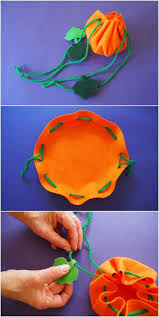 easy pumpkin treat bag will to make a