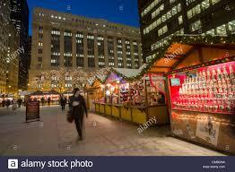 shoppers at chicago german christkindlmarket winter festival open
