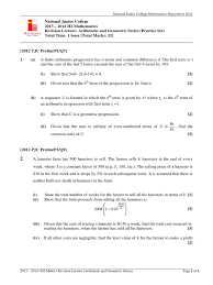 100 geometric sequence worksheet with answers unit 7 u0026