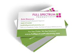 Youtube Business Card Use Your Business Cards To List Social Networks U0026 Calls To Action