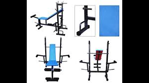 Chair Gym Review Unboxing And Review Of Fitfly 8 In 1 Gym Bench Youtube