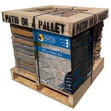 Patio Bricks At Lowes by Shop Patio Paver Kits At Lowes Com
