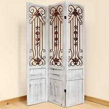 Rustic Room Dividers by Wooden Screens U0026 Room Dividers Ebay