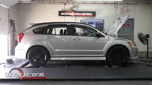 dodge crossover white 2008 dodge caliber dyno tuning youtube