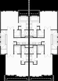 craftsman duplex house plans luxury townhouse plans 2 bedroom