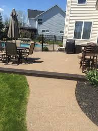 stamped concrete driveways patios foundations decorative concrete