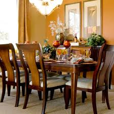 Accent Wall Dining Room  Fab Red Accent Walls In Dining Rooms - Dining room accent wall