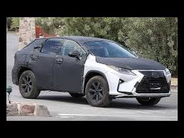 lexus 3 row suv will change for the 2018 lexus rx 350