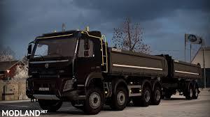 truck volvo 2014 volvo fmx 2014 kiper mod for ets 2