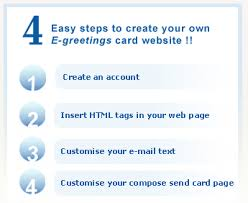 generate income with a free e greeting card website