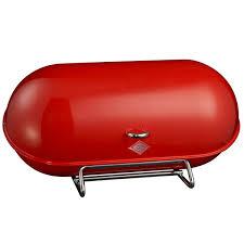 wesco space master bread bin u2013 red designer kitchen bread bin