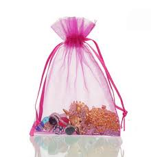 where to buy goodie bags transparent net yarn drawstring pouch candy bag wrapping jewelry