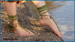 barefoot sandals crochet tutorial tribal barefoot sandals