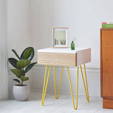 Bed Side Desk Bedside Chests And Tables Notonthehighstreet Com