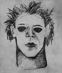 Halloween H20 Sketch Michael Myers Net