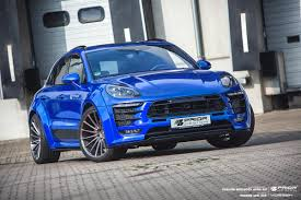 Porsche Macan Modified - pd600m widebody prior design exclusive tuning