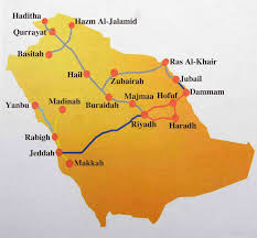 Mecca On Map Jeddah To Mecca Road Map