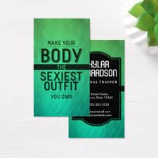 Fitness Business Card Template Workout Business Cards U0026 Templates Zazzle