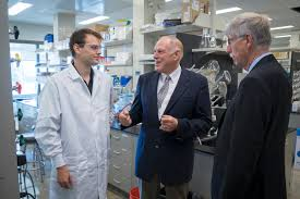 Nih Campus Map U S Senator Joe Donnelly Nih Director Dr Francis Collins Visit