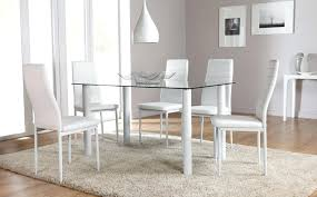 Ebay Uk Dining Table And Chairs White Table And Chairs Fabulous White Wooden Dining Table And
