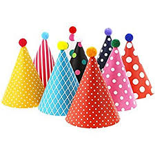 vesil kids birthday party hats assorted kitchen dining