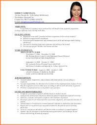 resume job application resume for your job application