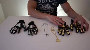 diy punk necklace images Building the daft punk gloves and chains jpg