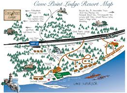 Beaver Lake Map Award Winning Lake Superior Resort On Mn North Shore Cove Point