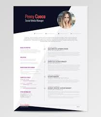 Social Media Resume Template Askella U2013 Free Resume Template Rockstarcv Com