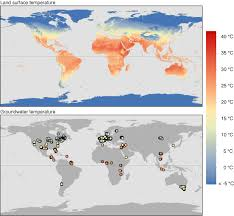 global patterns of shallow groundwater temperatures iopscience