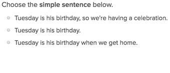 simple compound and complex sentences exercises education com