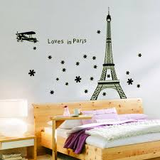 eiffel tower beautiful view of paris noctilucent diy wall sales