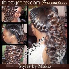 sew in hairstyles with braids sew in curly hairstyle thirstyroots com black hairstyles