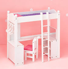 American Doll Bunk Bed Lowest Price 18 Doll Bunk Bed With Desk Fits American